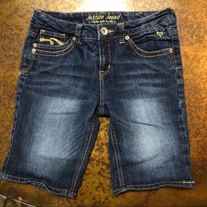 Justice Girls Shorts Size 14R